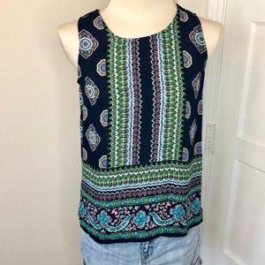 Cynthia Rowley Sleeveless Multi-Color top